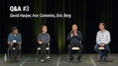 Q&A与马克Cucuzzella,大卫·哈珀,艾弗康明斯和埃里克·伯格(LCD 2020)