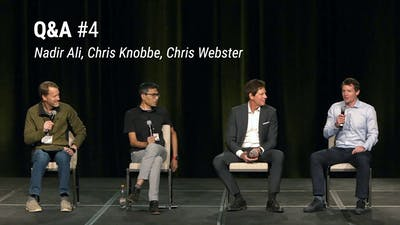 Q&A with Nadir Ali, Chris Knobbe and Chris Webster (LCD 2020)