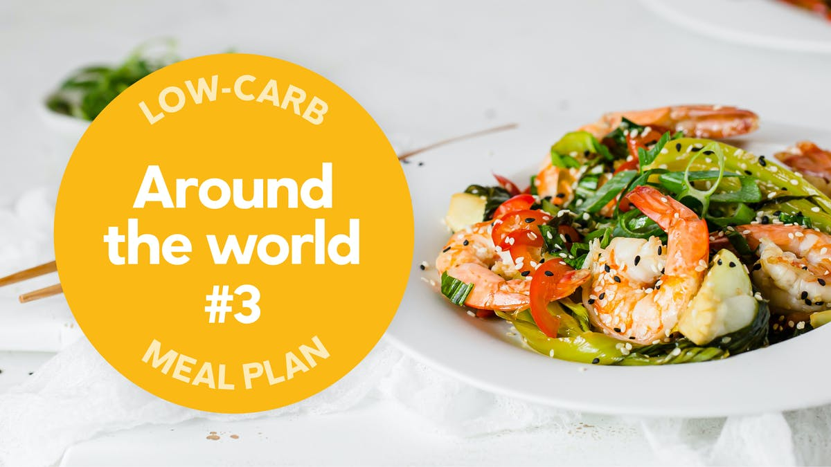 New low-carb meal plan: Around the world #3