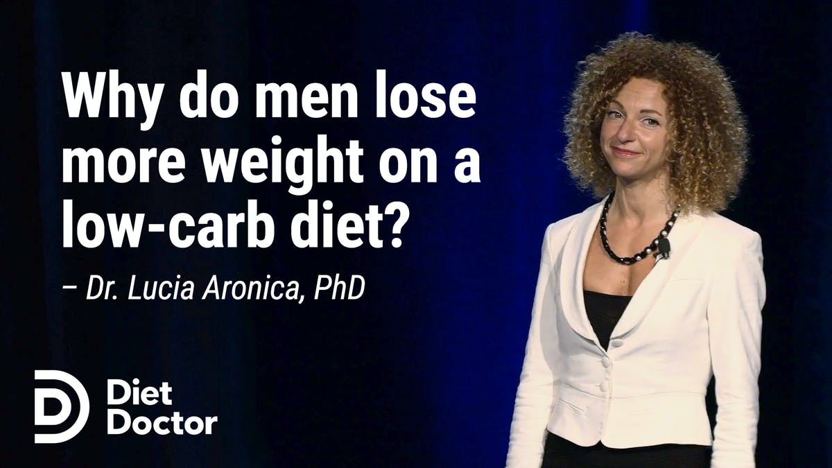 Why do men lose more weight on a low-carb diet? A surprising answer