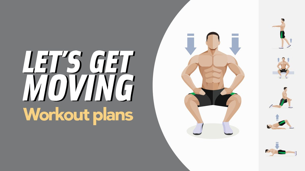 Three new at-home workout plans