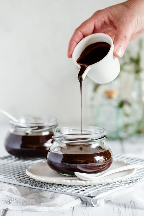 Sugar-free milk chocolate syrup