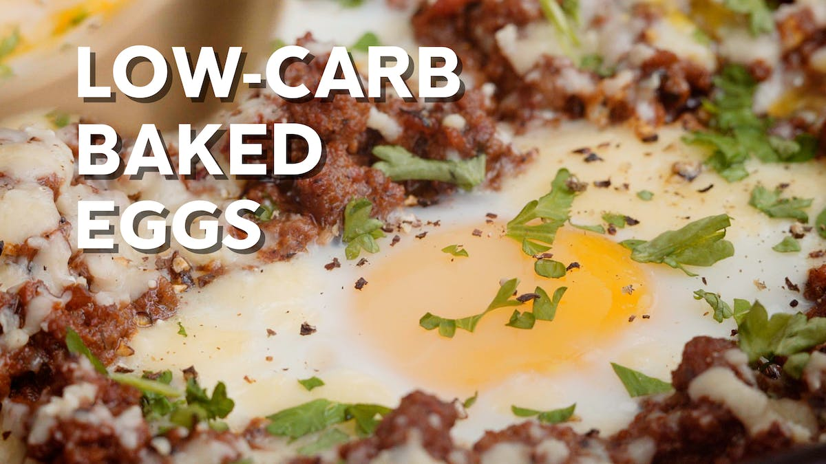Cooking video: Low-carb baked eggs