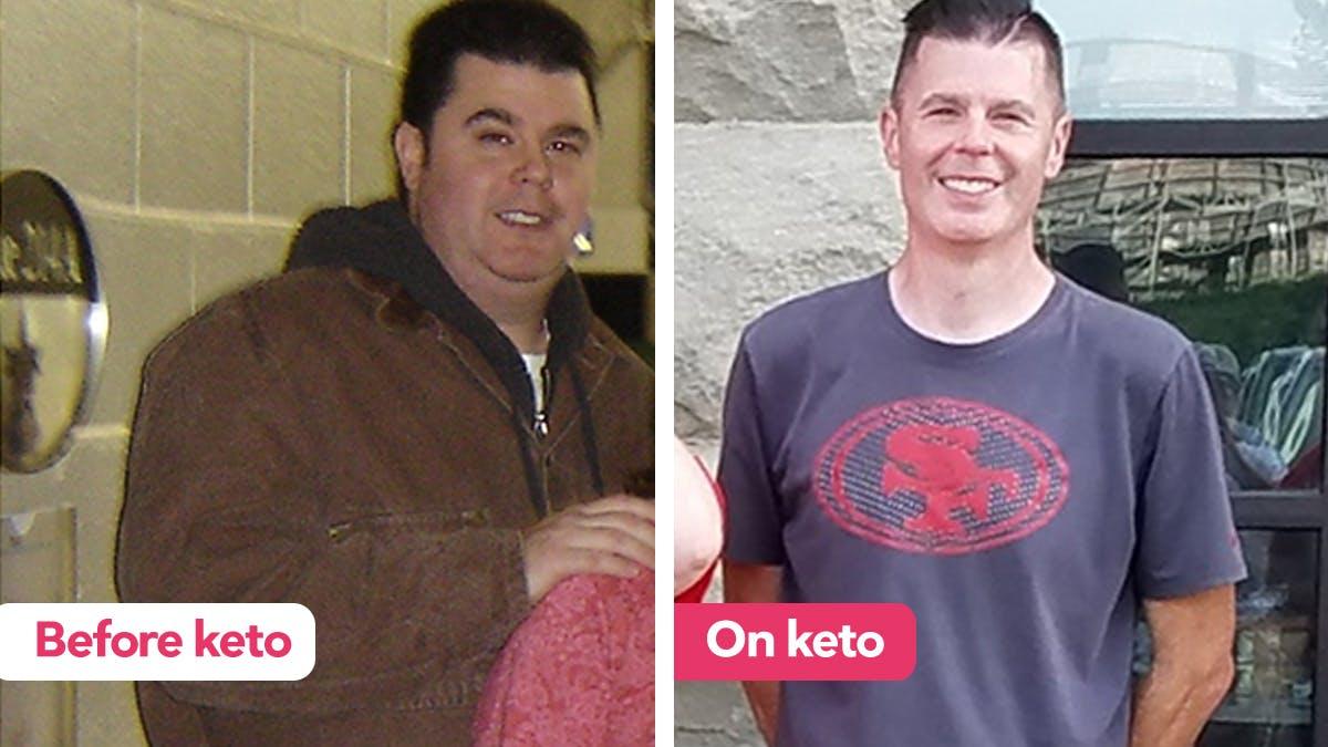 """""""我失去了100磅的低碳水化合物的2009至10年年初""""GydF4y2Ba"""