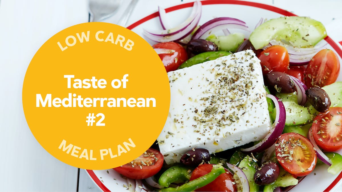 Low carb: Taste of Mediterranean #2