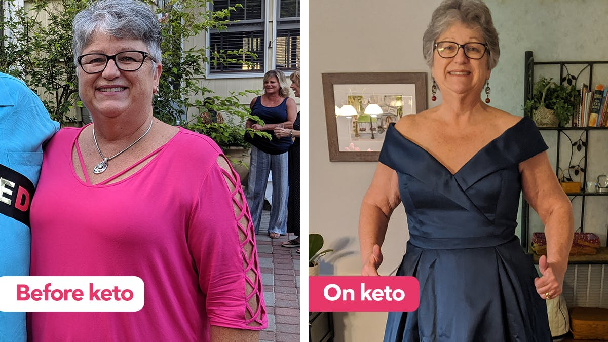 'Keto is a way I can eat because I love the food!'