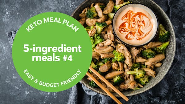 Keto: 5-ingredient meals #4