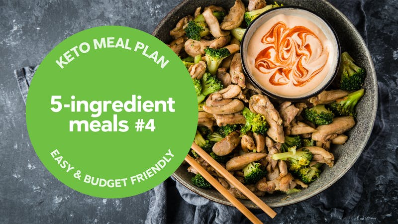 Keto: 5-ingredient meals #4
