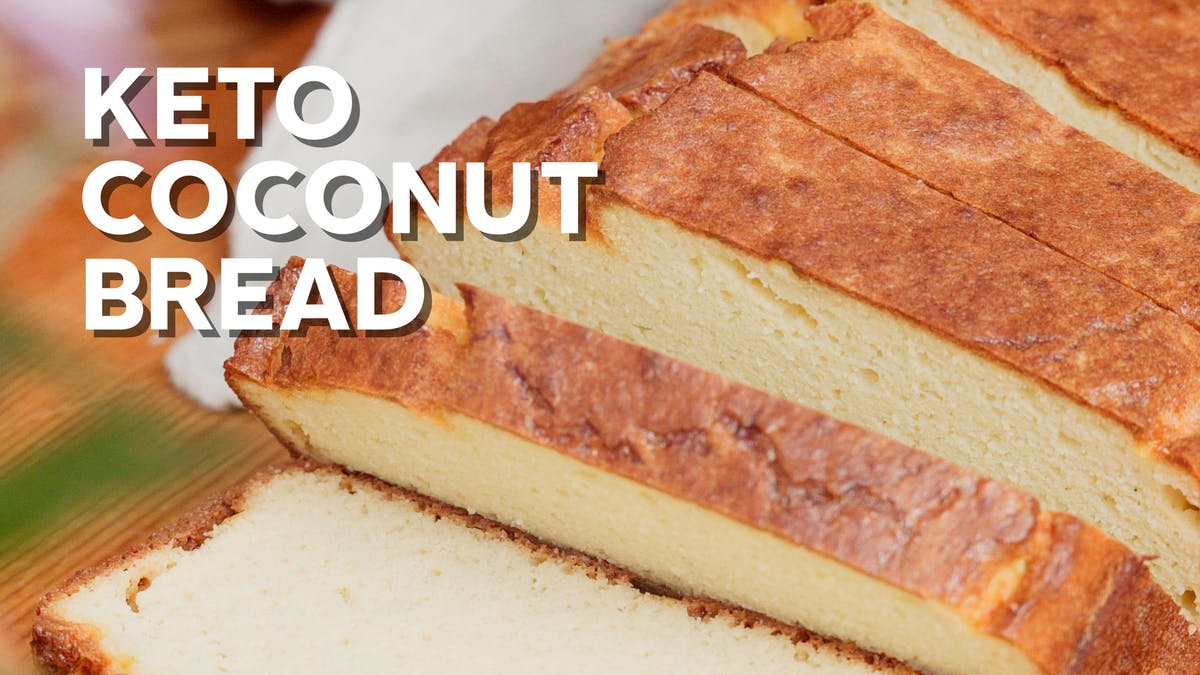 Cooking video: Keto coconut-flour bread 🥖