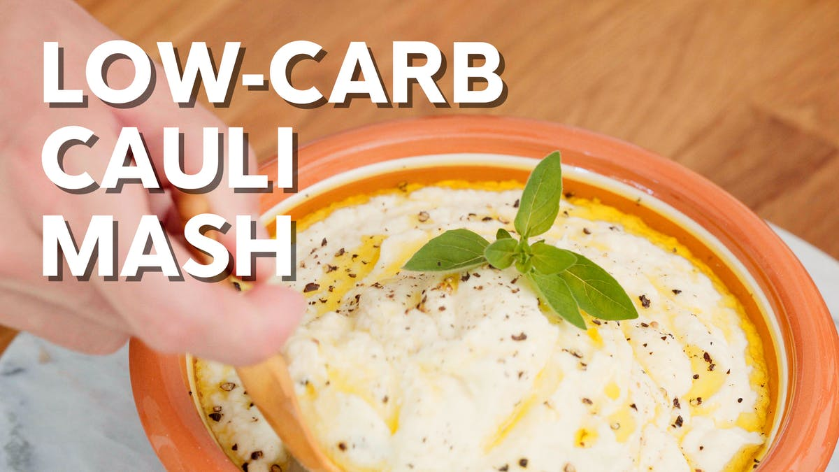 Cooking video: Low-carb cauli mash