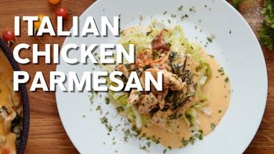 Italian chicken parmesan