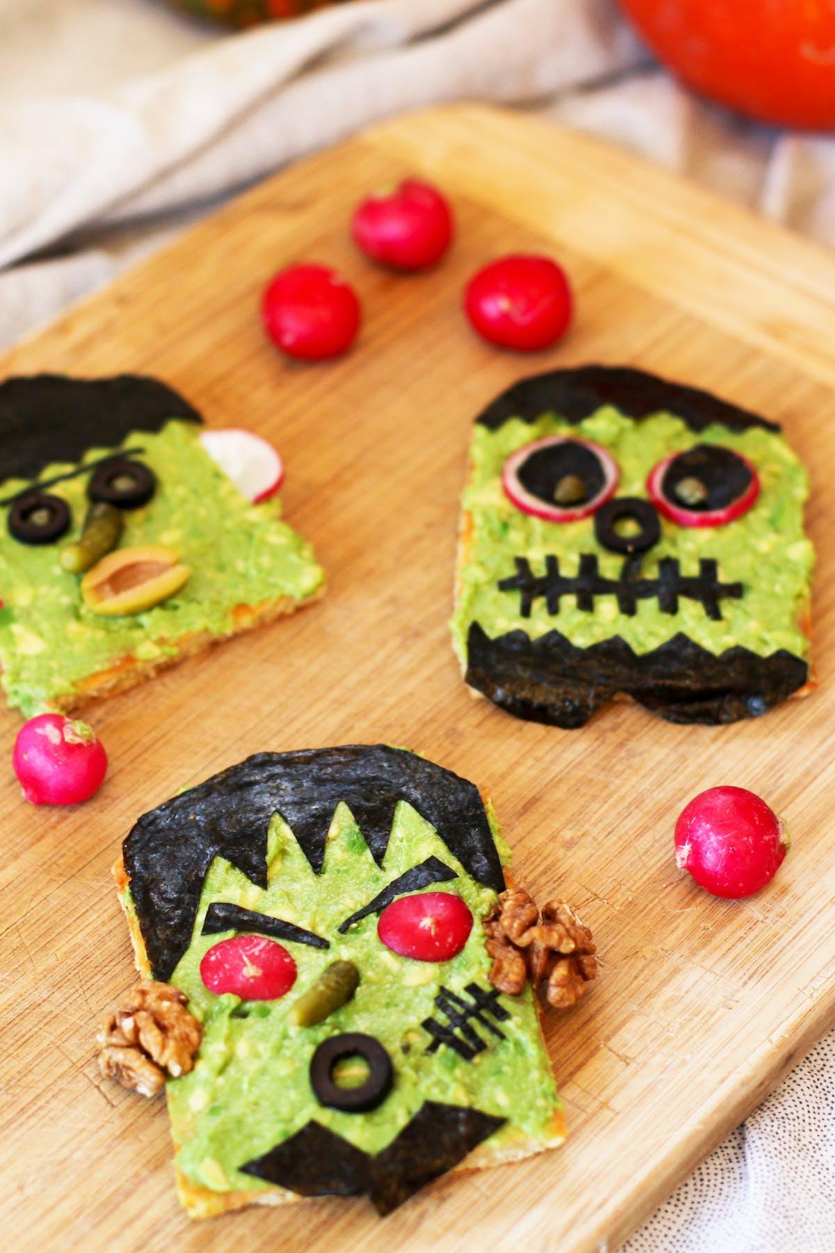 Monster-mash avocado toast