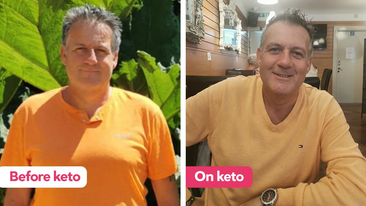 """I just want to say the keto diet is amazing!"""
