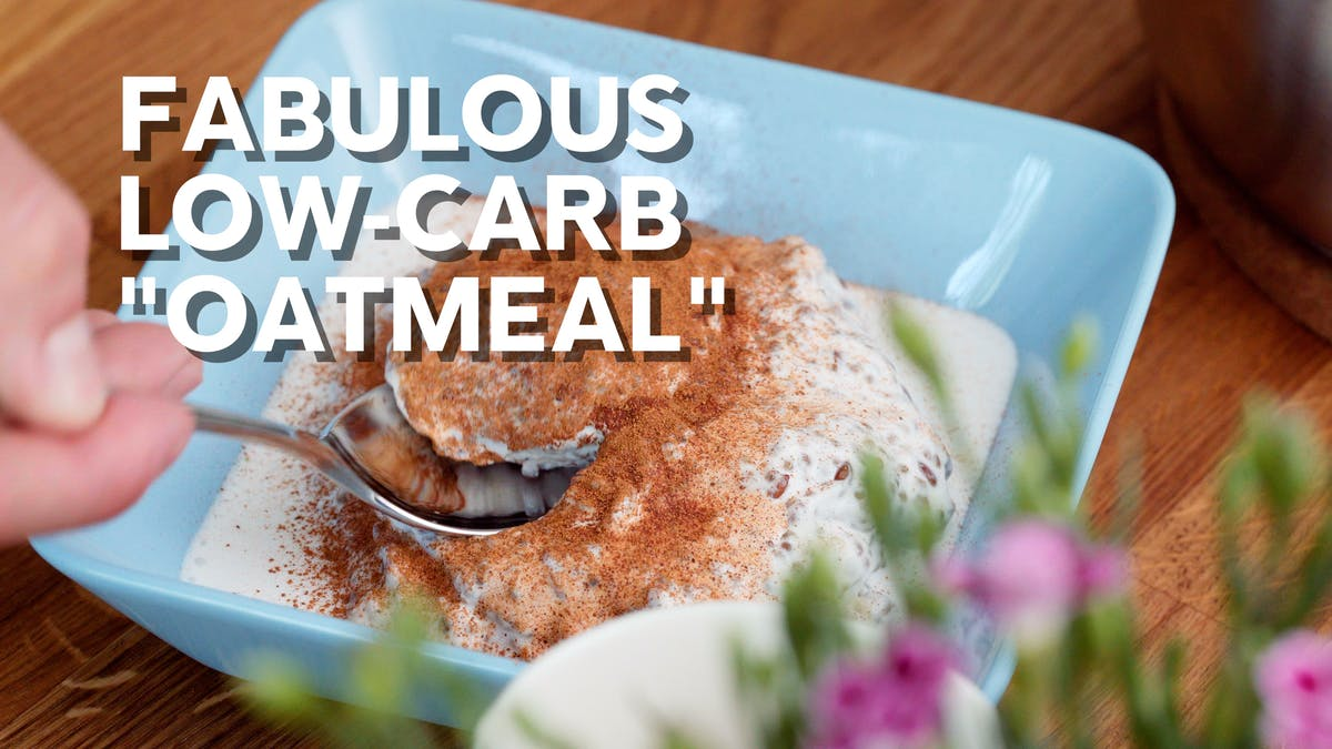 Cooking video: Fabulous low-carb n'oatmeal