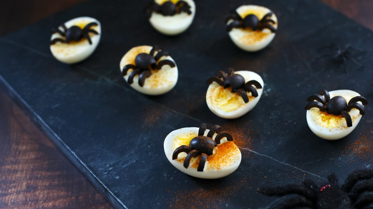 Eggy spiders