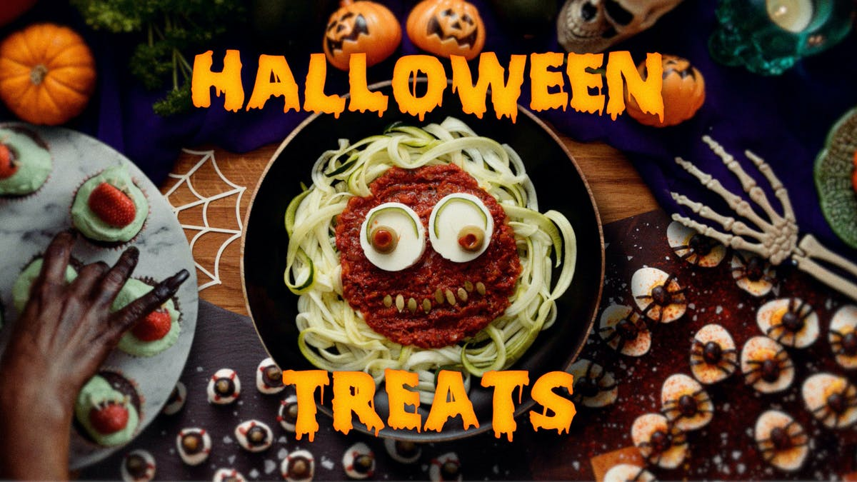 Cooking video: Spooky Halloween recipes 🎃