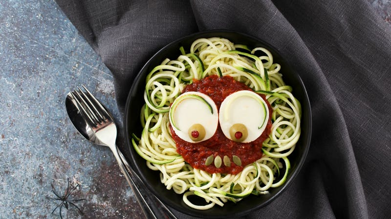 Scary zoodles