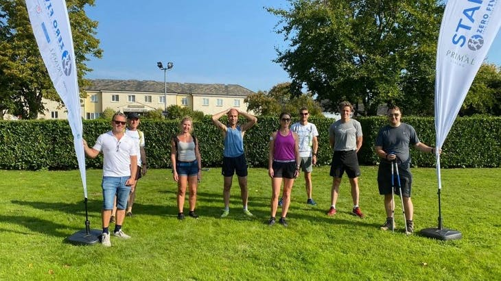 UK team completes a 100-mile, five-day run with no food
