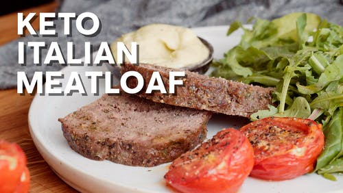 Keto Italian meatloaf