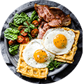 Low carb, all breakfasts (photo)
