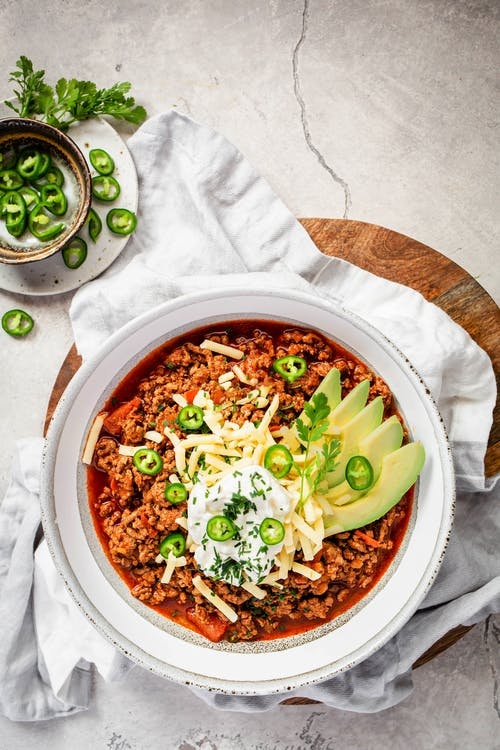 No-bean keto chili