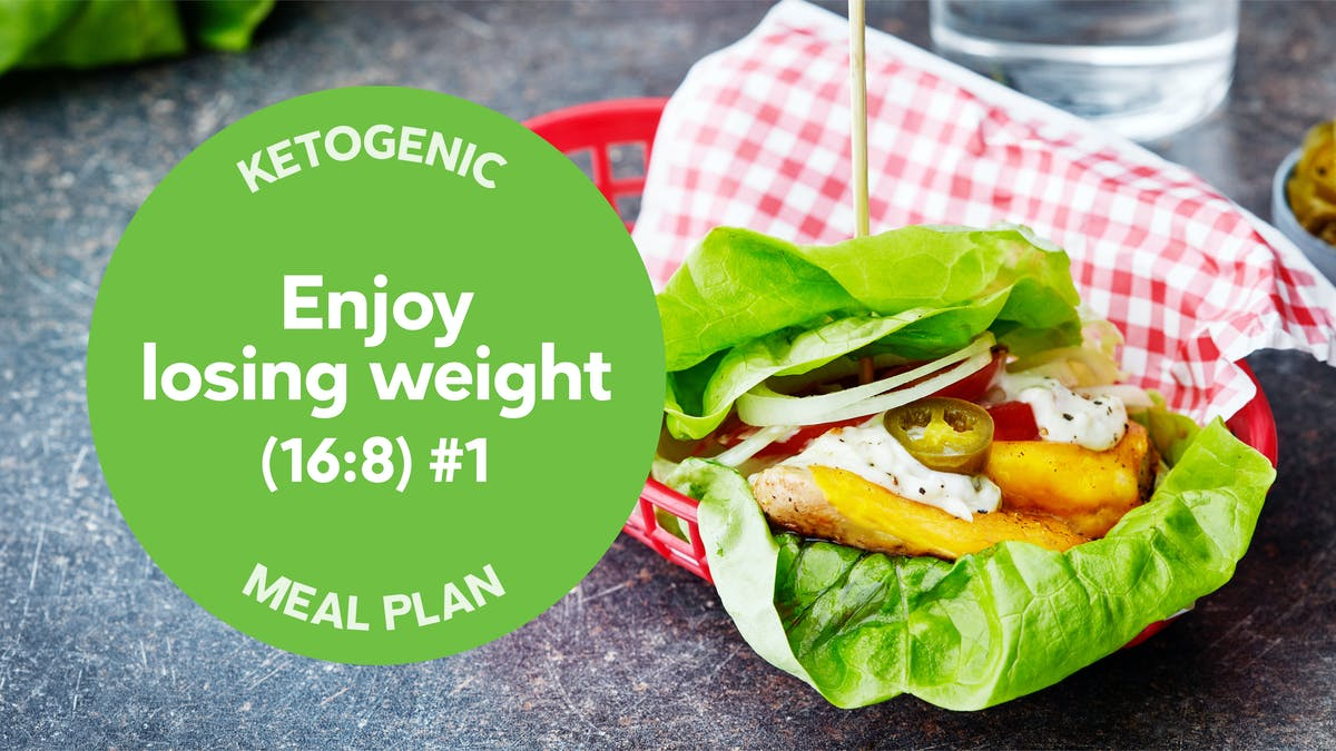 New keto meal plan: Enjoy losing weight (16:8) #1