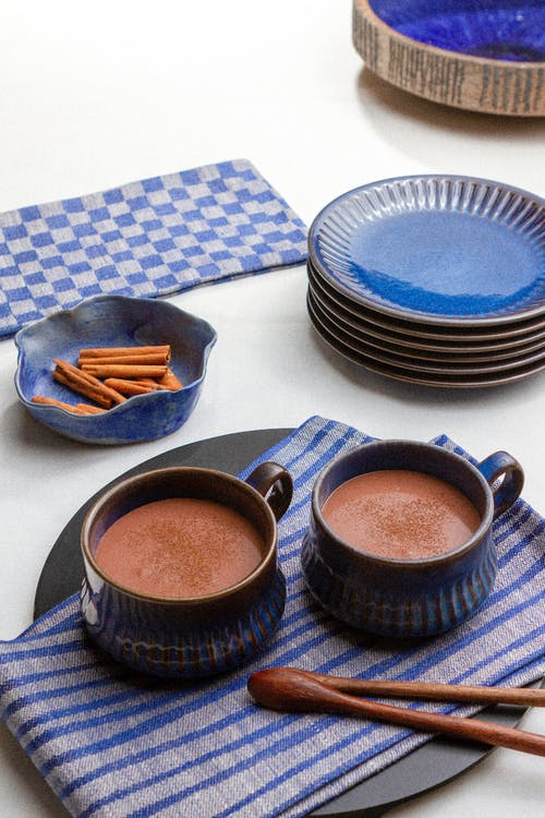 Low-carb Mexican hot chocolate (champurrado)