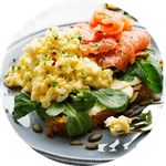 Low-carb eggs