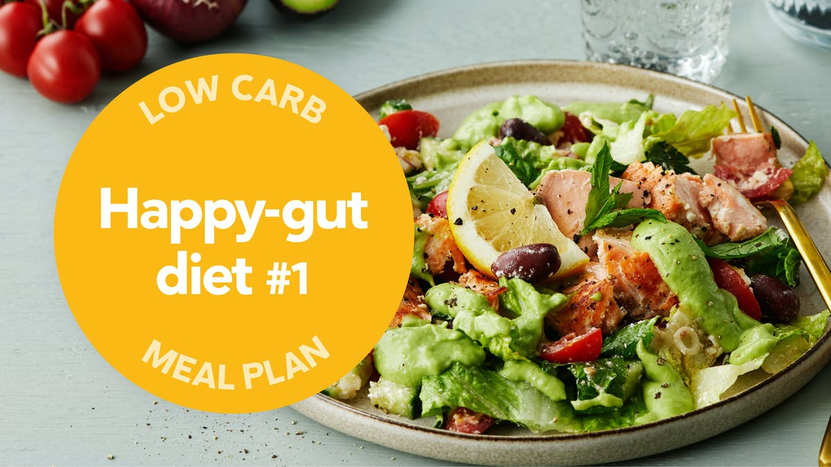 Low-carb meal plan: Happy-gut diet #1