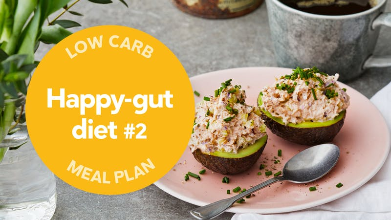 Low-carb meal plan: Happy-gut diet #2