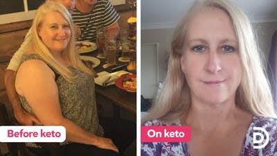 'After starting keto, I was suddenly full of energy'