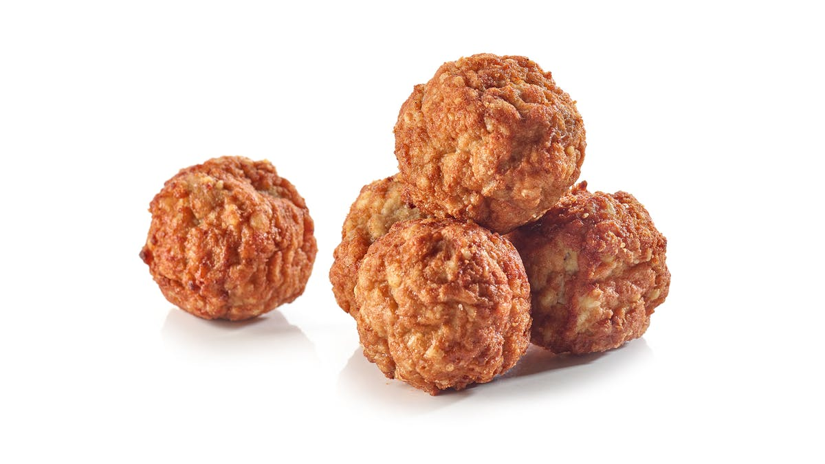Ground beef — sliders and meatballs