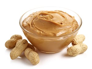 Peanut or almond butter — top protein source on a vegetarian keto diet