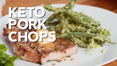 Keto pork chops