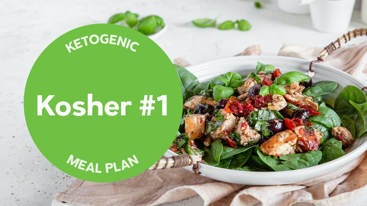 New keto meal plan: kosher #1