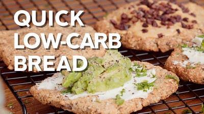 Quick low-carb bread