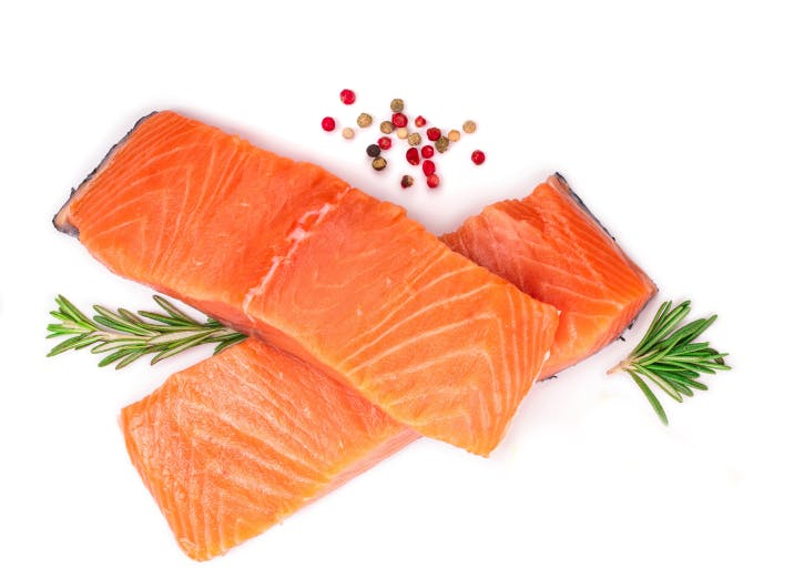 Salmon — quick ingredient for keto & low-carb casseroles