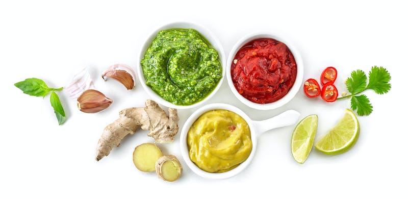 Keto-friendly sauces