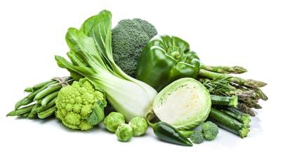 Healthy fresh green vegetables