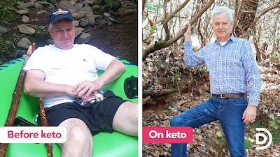 Nick enjoys more stable blood sugar levels on LCHF