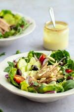 The easiest fish salad
