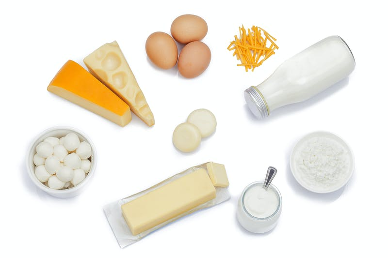 How to make low-carb bread with eggs, cheese, and other dairy products