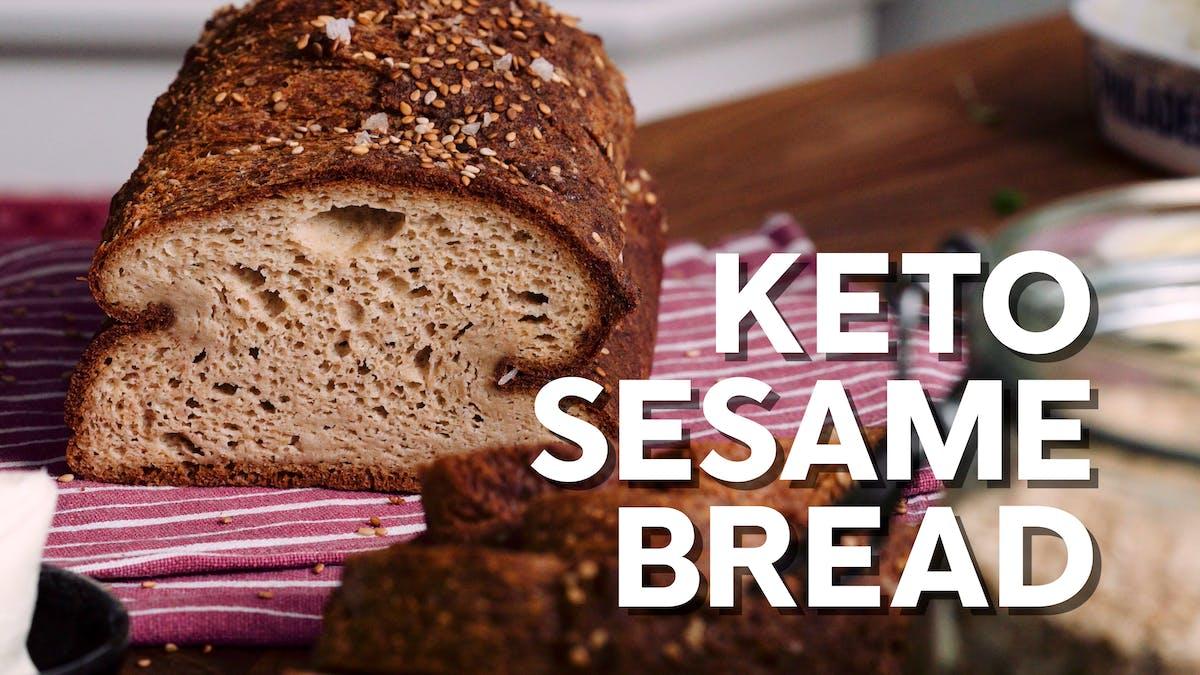 Keto Sesame Bread