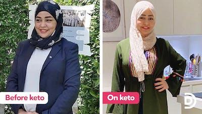 'I use my keto experience to help my Arabic community'
