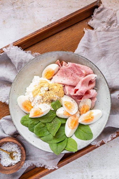 High-protein keto breakfast bowl