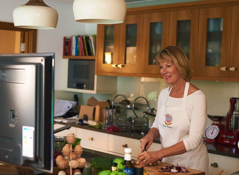 Katie Caldesie kitchen