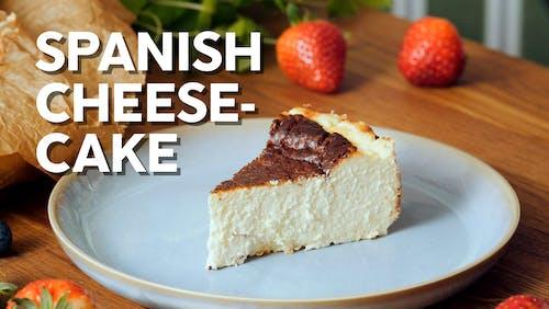 Spanish cheesecake