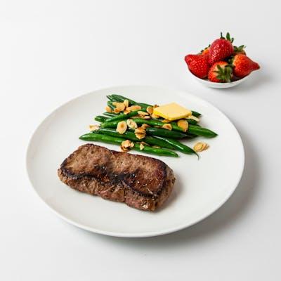 male steak