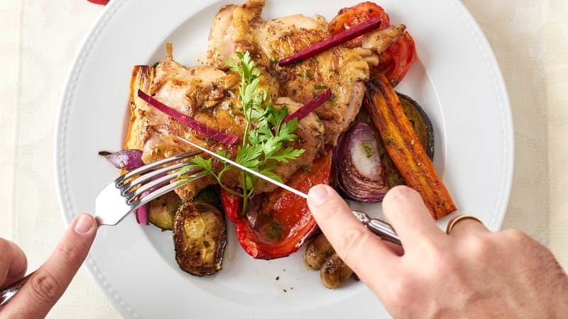 grilled-chicken-with-vegetables