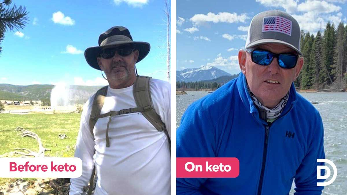 For Mark, 50 pounds and digestive distress 'vanished'